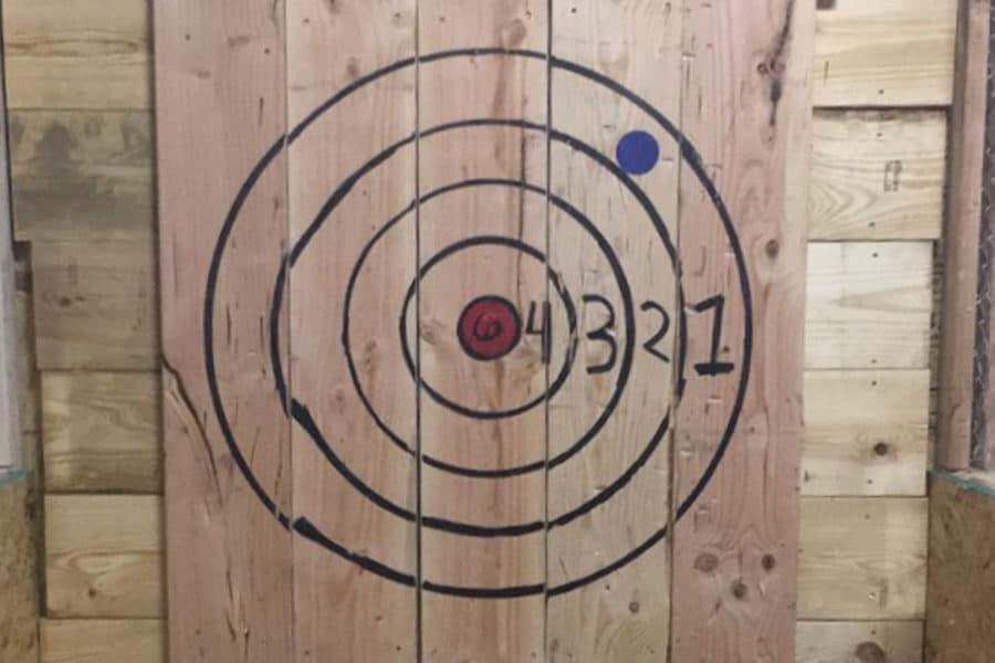 Standard Axe Throwing Target